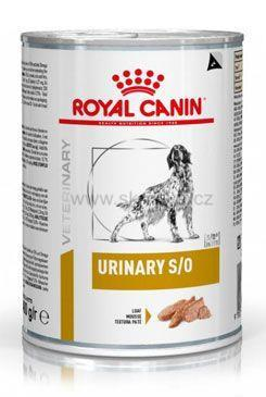 Royal Canin VD Canine Urinary S/O 410g konz.