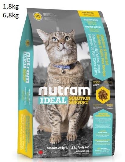 Nutram Ideal Weight Control Cat 2x1,8kg